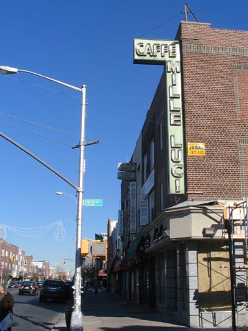 18th Avenue and 72nd Street, NE Corner, Bensonhurst, Brooklyn