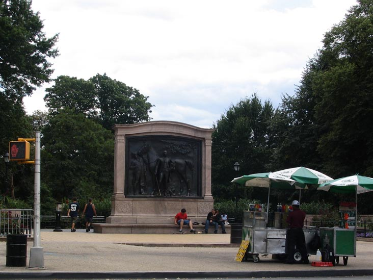 Marquis de Lafayette Monument, 9th Street and Prospect Park West, Prospect Park, Brooklyn