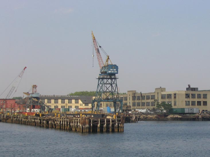 New York Shipyard Corporation, Erie Basin, Red Hook, Brooklyn
