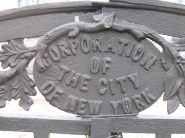 Portion of Gate at Calvary Veterans Park, Queens