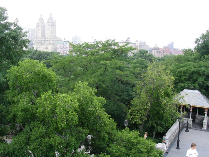 View to the Southwest from Belvedere Tower, Central Park, Manhattan