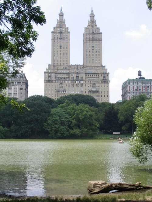 San Remo Apartments, 145-146 Central Park West From The Lake, Central Park, Manhattan
