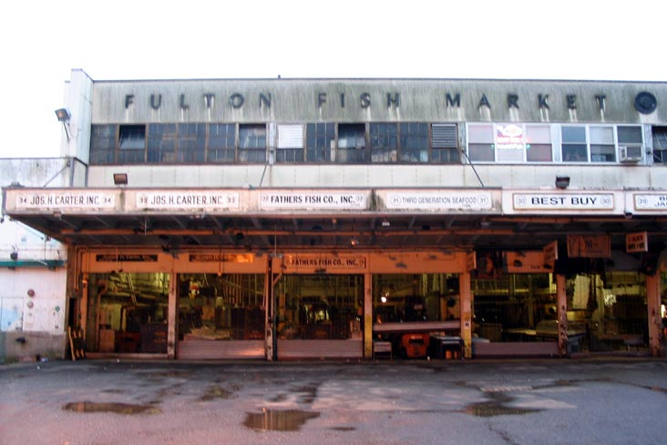 fulton fish market south street seaport historic district