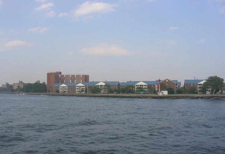 Governors Island From New York Harbor/Upper New York Bay