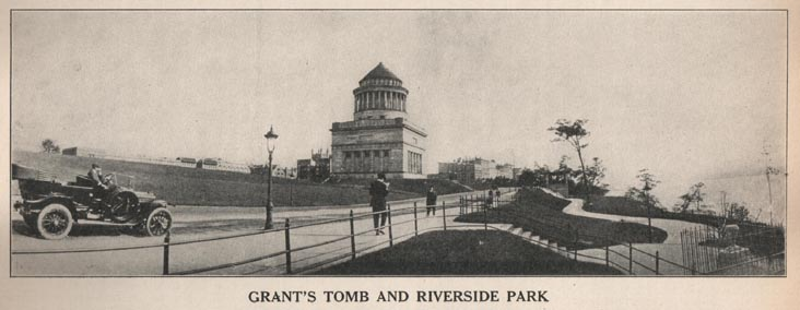 Grant's Tomb, 1916 Parks Annual Report