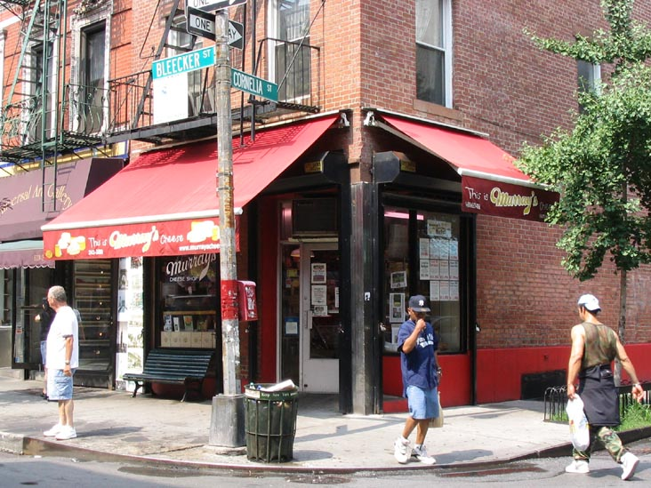 Murray's Cheese Shop, 257 Bleecker Street, West Village, July 2004