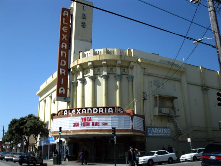 Geary Boulevard Richmond District San Francisco California