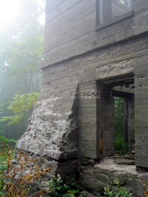 Overlook Mountain House Ruins, Overlook Mountain, Woodstock, New York
