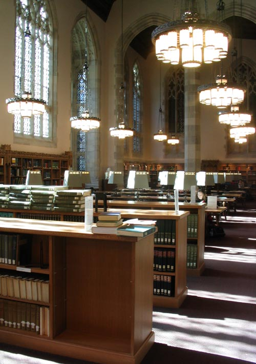 Sterling Memorial Library, Yale University, New Haven, Connecticut