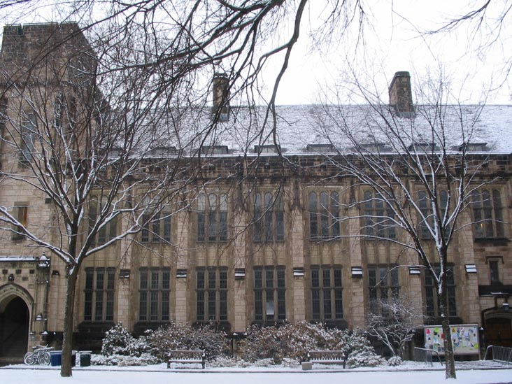 Harkness Hall, Yale University, New Haven, Connecticut