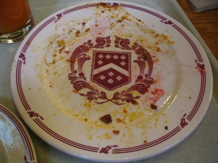 Plate, Dining Hall, Berkeley College North, Yale University, New Haven, Connecticut