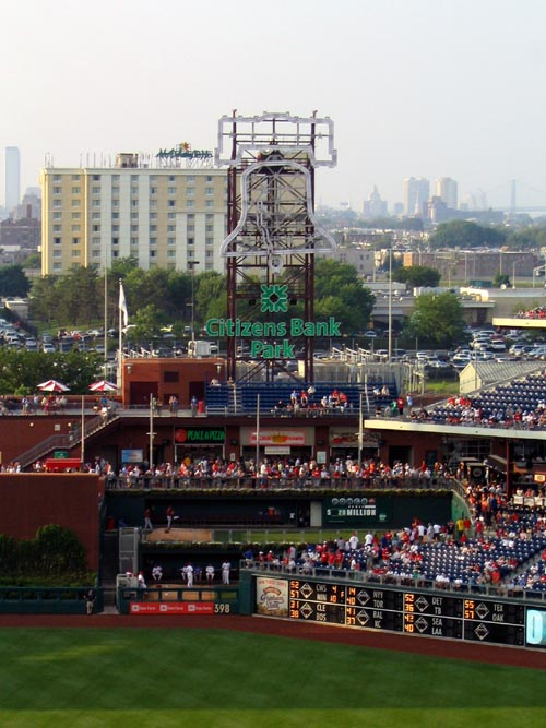 Holiday Inn Stadium From Citizens Bank Park, Philadelphia, Pennsylvania, May 28, 2007
