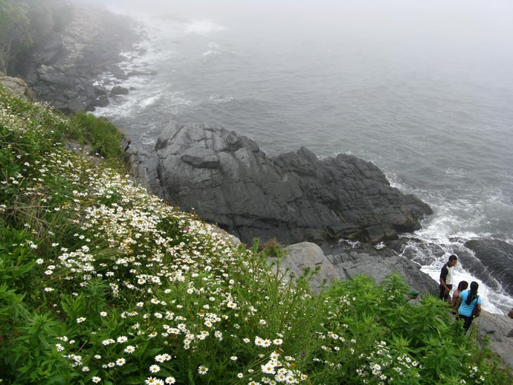 40 Steps, Cliff Walk At Narragansett Avenue, Newport, Rhode Island