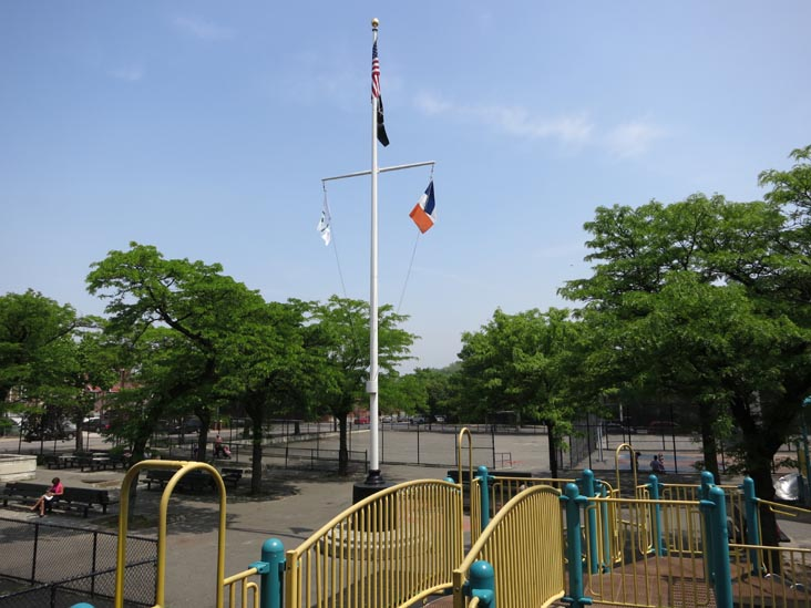 Paul Raimonda Playground, 20th Avenue Between 47th Street and 48th Street, Astoria, Queens, May 29, 2013
