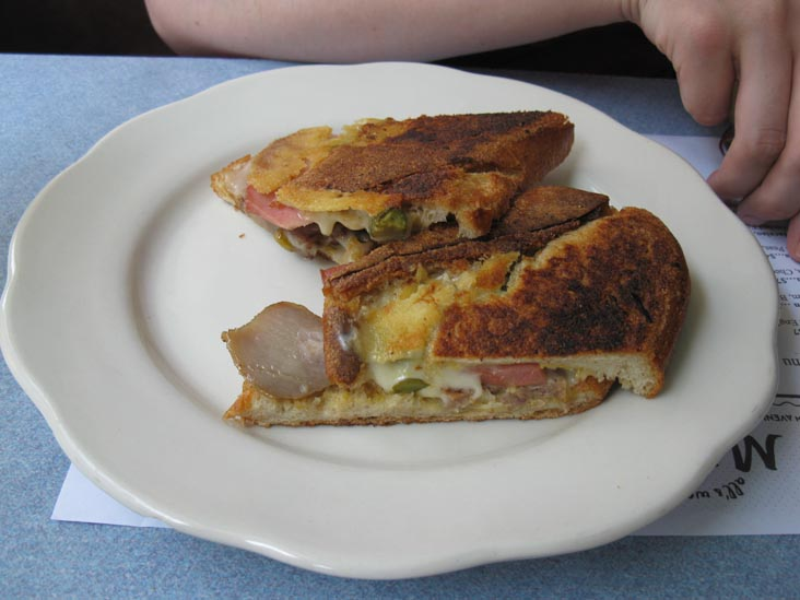 Cubano Sandwich, M. Wells Diner, 21-17 49th Avenue, Hunters Point, Long Island City, Queens