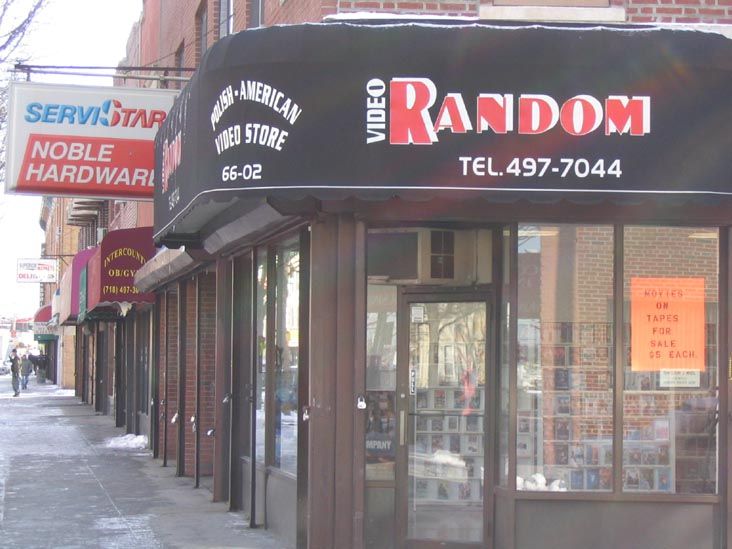 Video Random, 66-02 Fresh Pond Road, Ridgewood, Queens