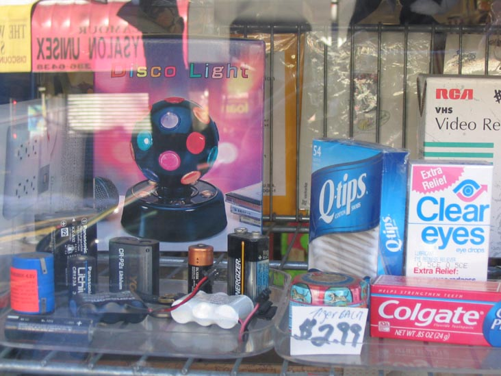 Disco Light, etc., 99-Cent Store, Fresh Pond Road, Ridgewood, Queens