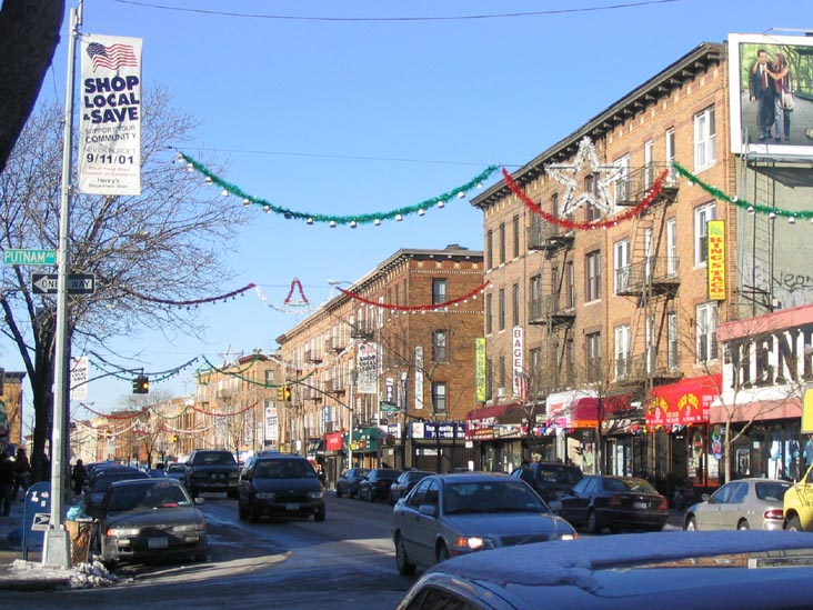 Putnam Avenue and Fresh Pond Road, Looking North, Ridgewood, Queens