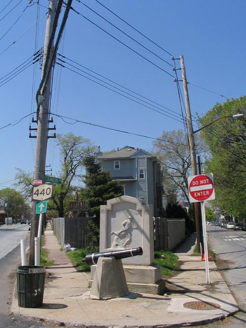 Travis World War I Monument, Cannon Avenue and Victory Boulevard, Travis, Staten Island