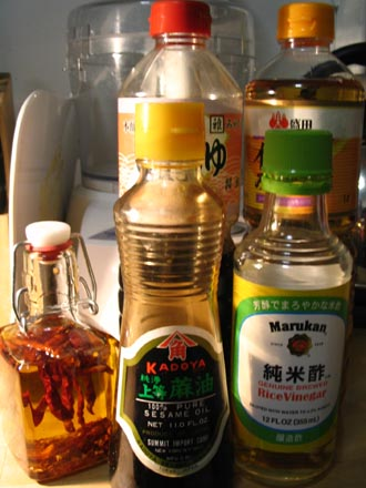 Water Spinach (Hollow Vegetables) Ingredients: Oil, Mirin, Sesame Oil