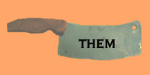 "Back To Blue Cleaver ""Them"" Home Page"