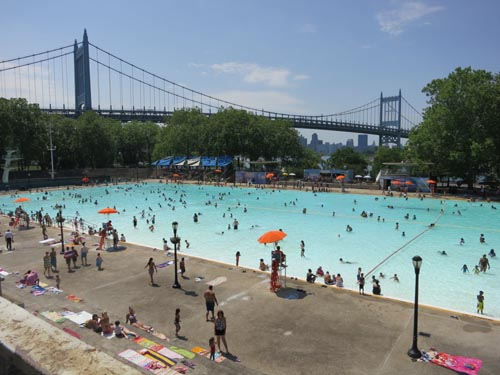 Astoria Park Pool, Astoria, Queens, June 28, 2012, 2:29 p.m.