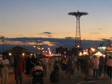 Labor Day Weekend, Coney Island Boardwalk, September 4, 2005