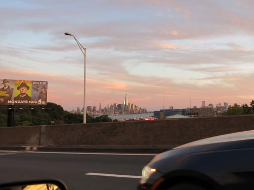 Lincoln Tunnel Approach, New Jersey, September 14, 2014, 7:07 p.m.