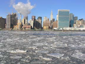 East River, January 25, 2004