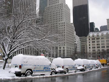 Grand Army Plaza, Manhattan, March 1, 2005