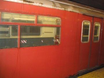 Orphan Redbird Subway Car, Queensboro Plaza