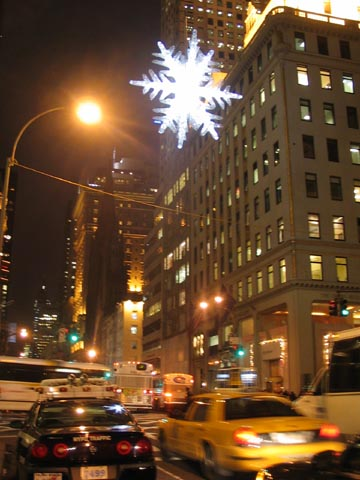 UNICEF Snowflake, Fifth Avenue and 57th Street, December 5, 2005