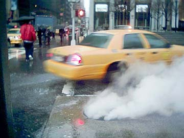 Fifth Avenue at 59th Street, February 2004