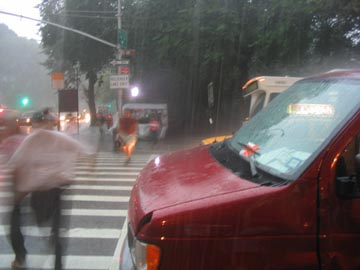 72nd Street and Fifth Avenue, August 11, 2004